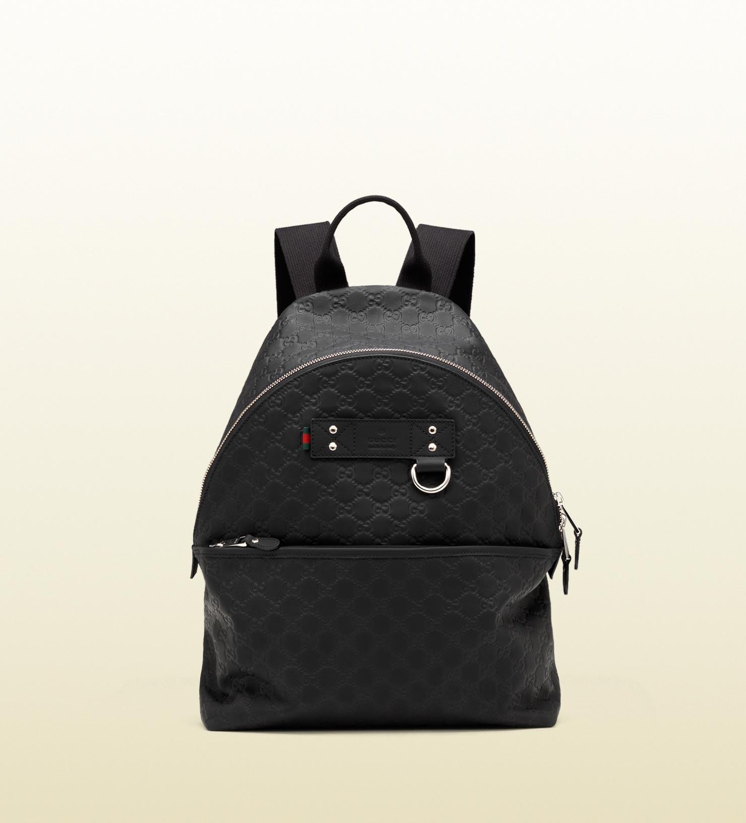 Gucci backpack in black for men lyst
