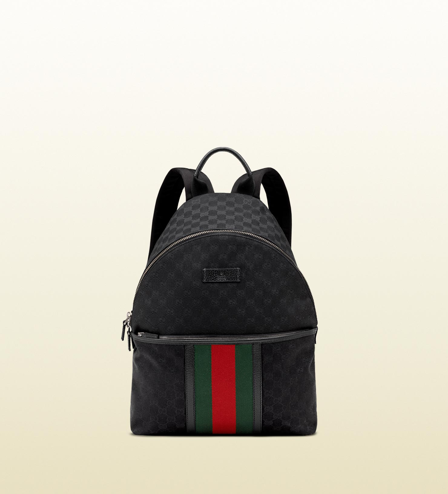 Black Green Red Gucci Backpack, Fenix Toulouse Handball