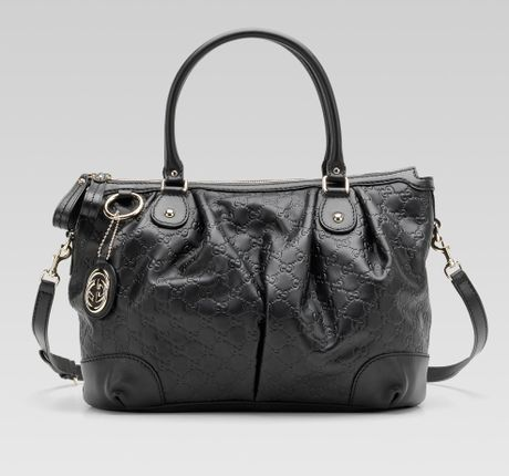 Gucci Sukey Top Handle Bag in Black - Lyst
