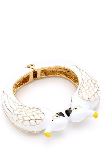 Juicy Couture Cockatoo Bangle - Lyst