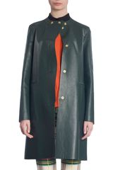 Marni Snap Button Coat - Lyst