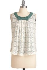 ModCloth Forest Place Top - Lyst