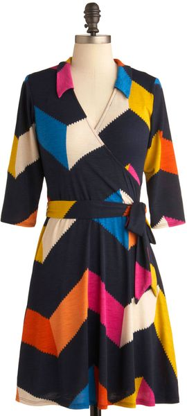 ModCloth Bold You So Dress - Lyst