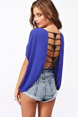 Nasty Gal Love Triangle Top - Lyst