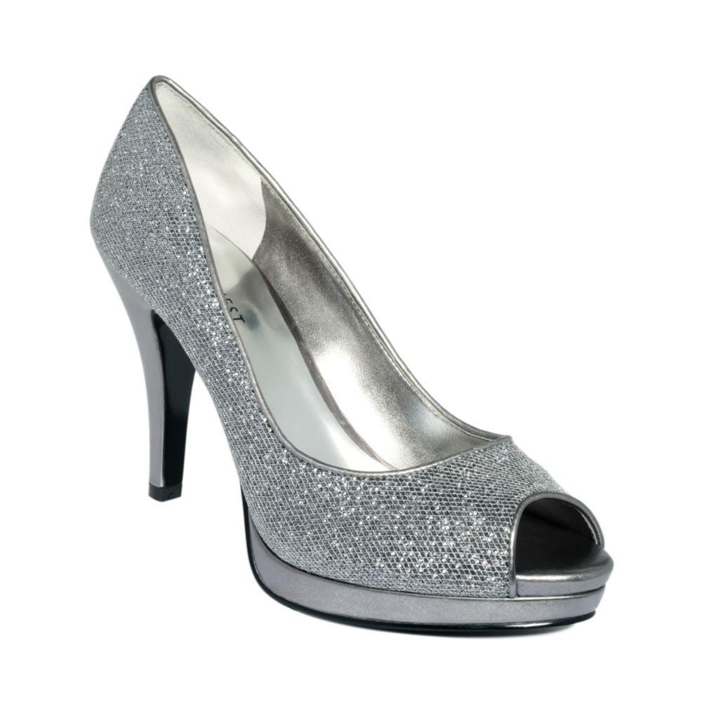 Nine West Dress Shoes Pewter