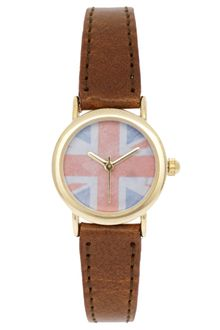 River Island Union Jack Face Watch - Lyst
