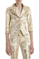 Rochas Brocade Suit Jacket