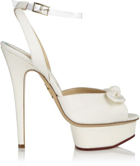 Charlotte Olympia Serena in White (blue)