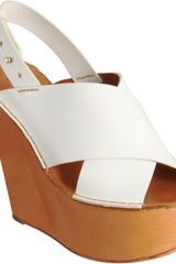 Chloé Crisscross Wedge - Lyst