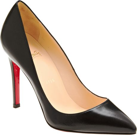 Christian Louboutin Pigalle in Black - Lyst