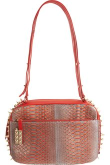 Christian Louboutin Python Medium Roxane Bag - Lyst