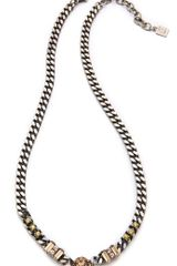 Dannijo Annabelle Necklace in Silver - Lyst