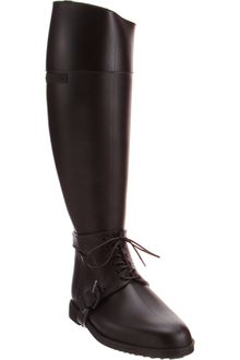 Givenchy Rubber Knee Boot - Lyst