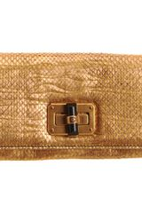Lanvin Python Happy Gm Continental Wallet