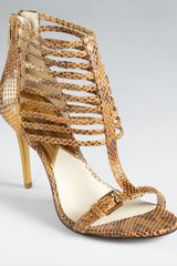 Michael Kors  Molly T- Strap Sandals - Lyst