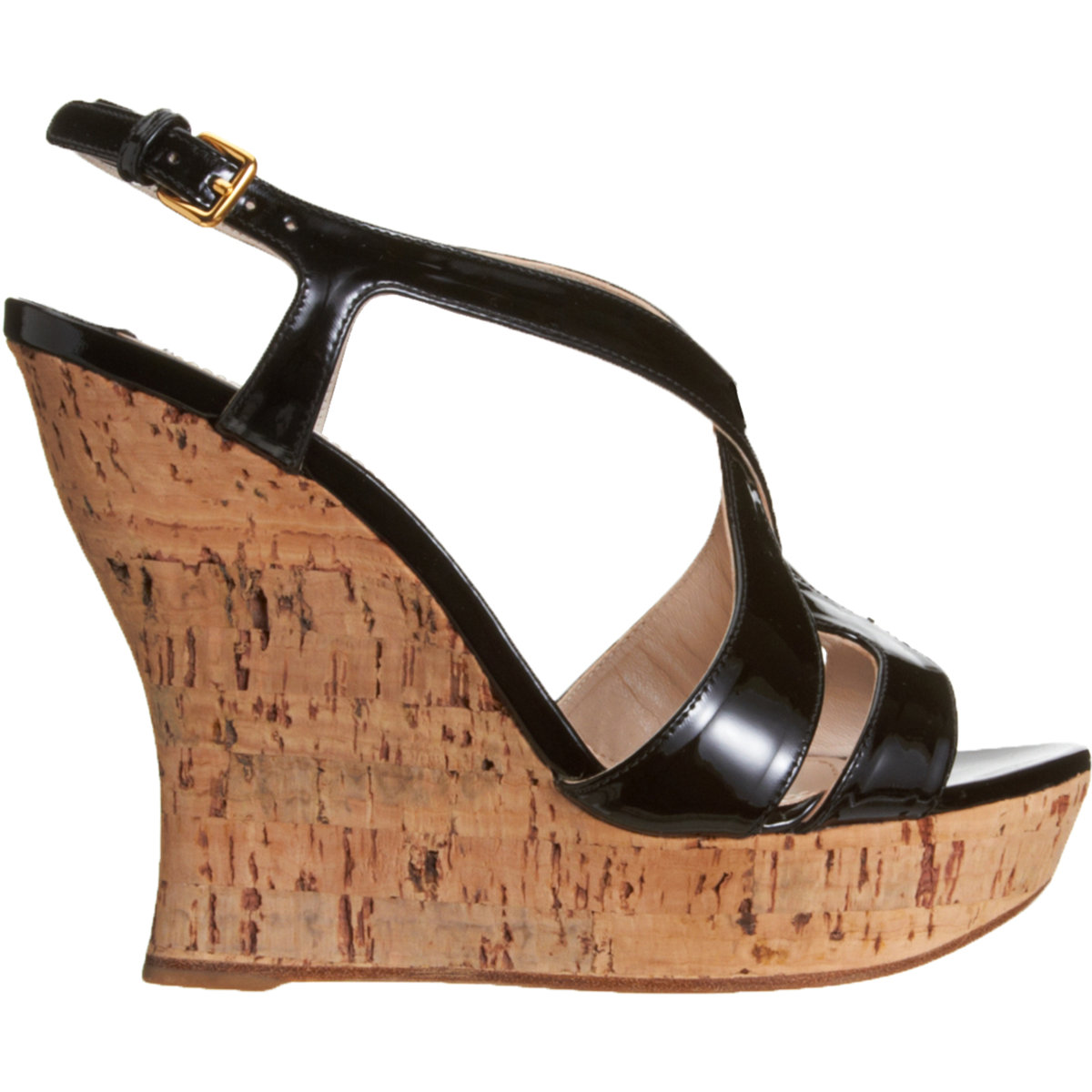 Miu Miu Cutout Wedge Sandals clearance wholesale price sale low shipping 7mTuHXAm