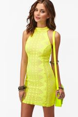 Nasty Gal Bright Lights Dress in Yellow - Lyst