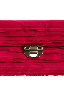 Nina Ricci Tiered Ruffle Evening Bag - Lyst
