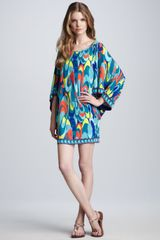 Trina Turk Casablanca Printed Dress - Lyst