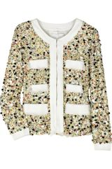3.1 Phillip Lim Sequined Silk Jacket