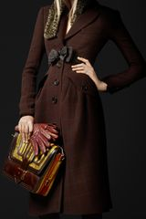 Burberry Prorsum Virgin Wool Tailored Top Coat - Lyst