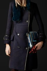Burberry Prorsum Bouclé Wool Top Coat - Lyst