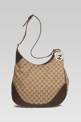 Gucci Charlotte Medium Shoulder Bag with G Detail - Lyst
