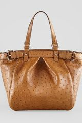 Gucci Bamboobuckle Medium Tote - Lyst