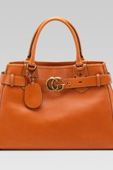 Gucci Gg Running Large Tote with Double G Detail - Lyst