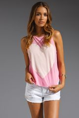 Wildfox Couture Big Heart Cassidy Tank - Lyst