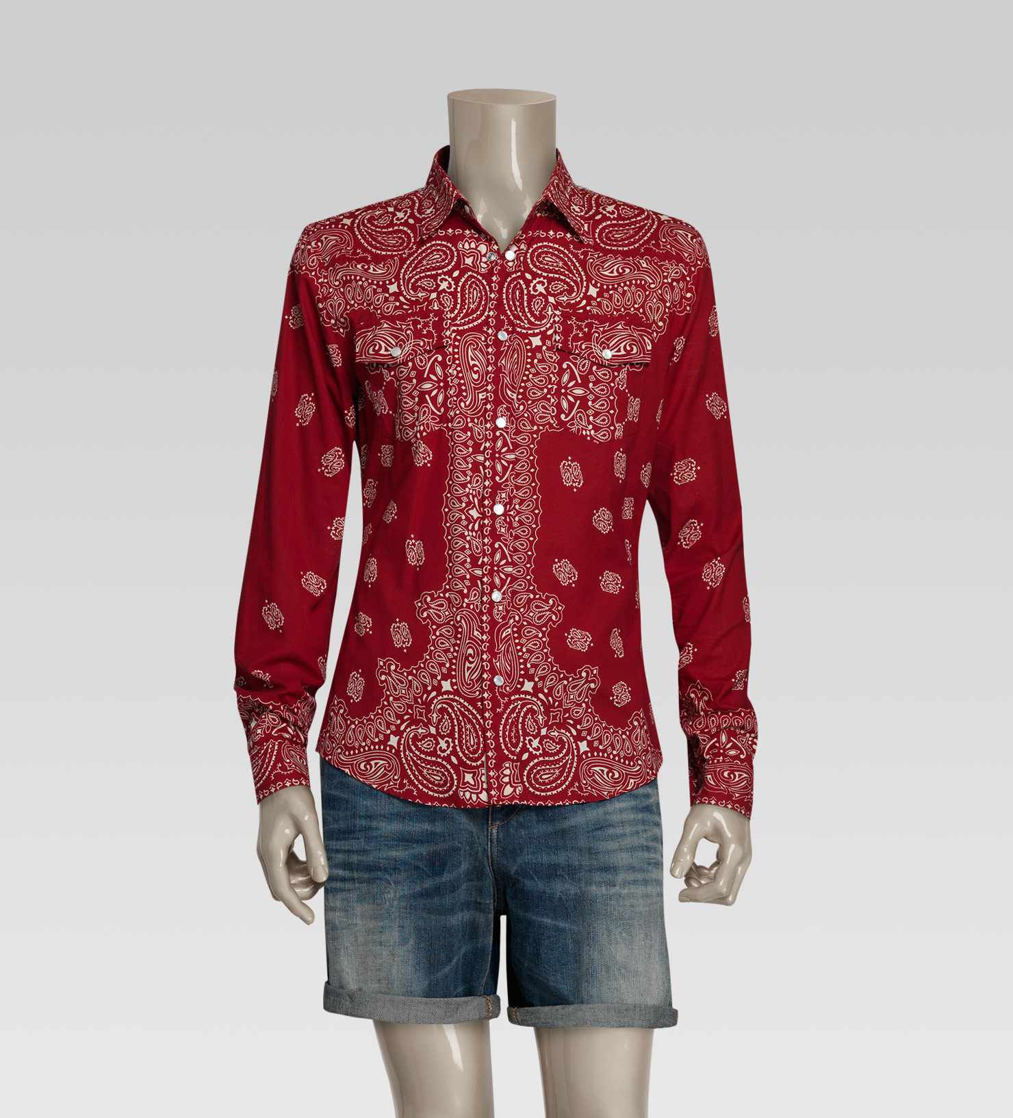 Mens Slim Fit Sport Shirts
