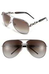 Gucci Marine Chain Aviator Sunglasses - Lyst