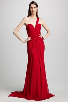 Pamella Roland One shoulder Gown - Lyst