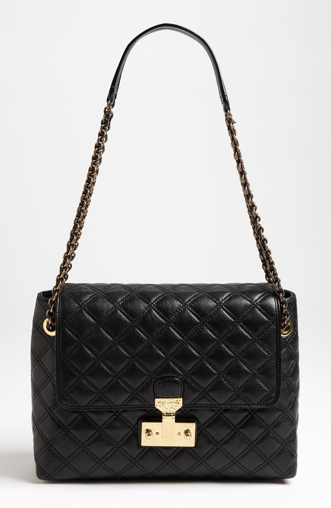 Baroque Xl Single' Leather Shoulder Bag 104