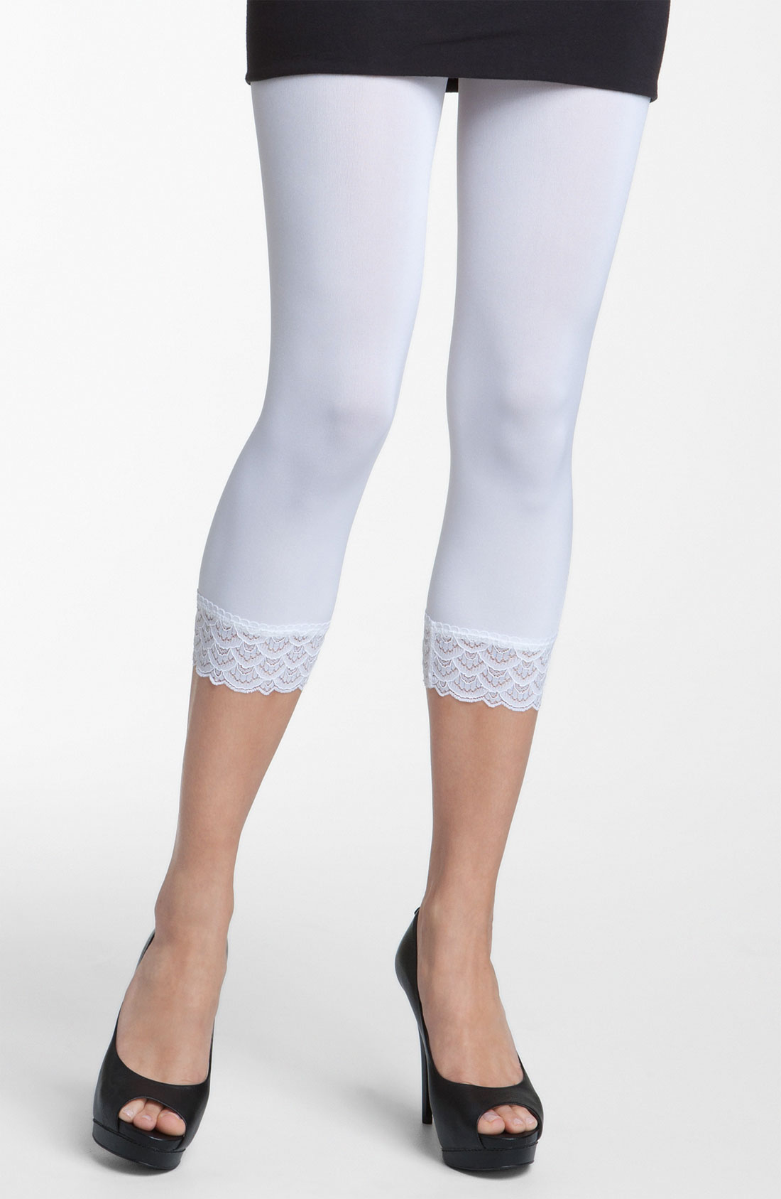 Images of White Capri Jeggings - Watch Out, There's a Clothes About