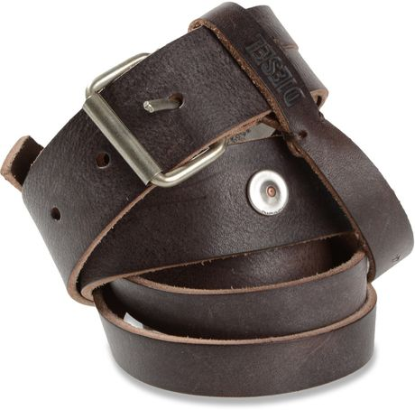 Diesel Baba Belt in Brown - Lyst