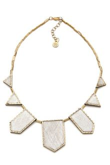 House Of Harlow Engraved Five Station Necklace - Lyst