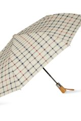 Brooks Brothers Windowpanecheck Automatic Umbrella - Lyst