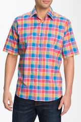 Bugatchi Uomo Regular Fit Sport Shirt - Lyst
