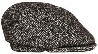 Burberry Prorsum Wool Tweed Coppola Hat - Lyst
