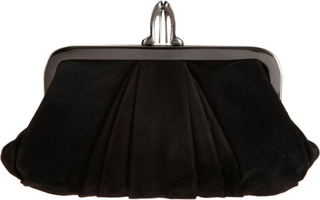 Christian Louboutin Mini Loubi Lula Clutch in Black (gunmetal) - Lyst