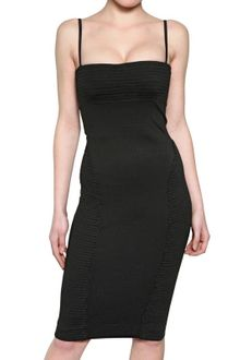 DSquared2 Compact Viscose Jersey Dress - Lyst