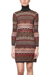 M Missoni Wool Knit Dress - Lyst