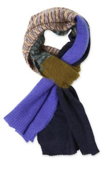 Missoni Multicolor Wool Knit Scarf - Lyst