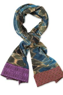 Missoni Patterned Wool Knit Scarf - Lyst
