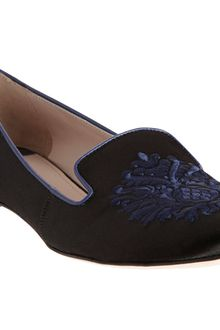 Miu Miu Embroidered Slipon - Lyst