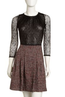 RED Valentino Lacetweed Dress - Lyst