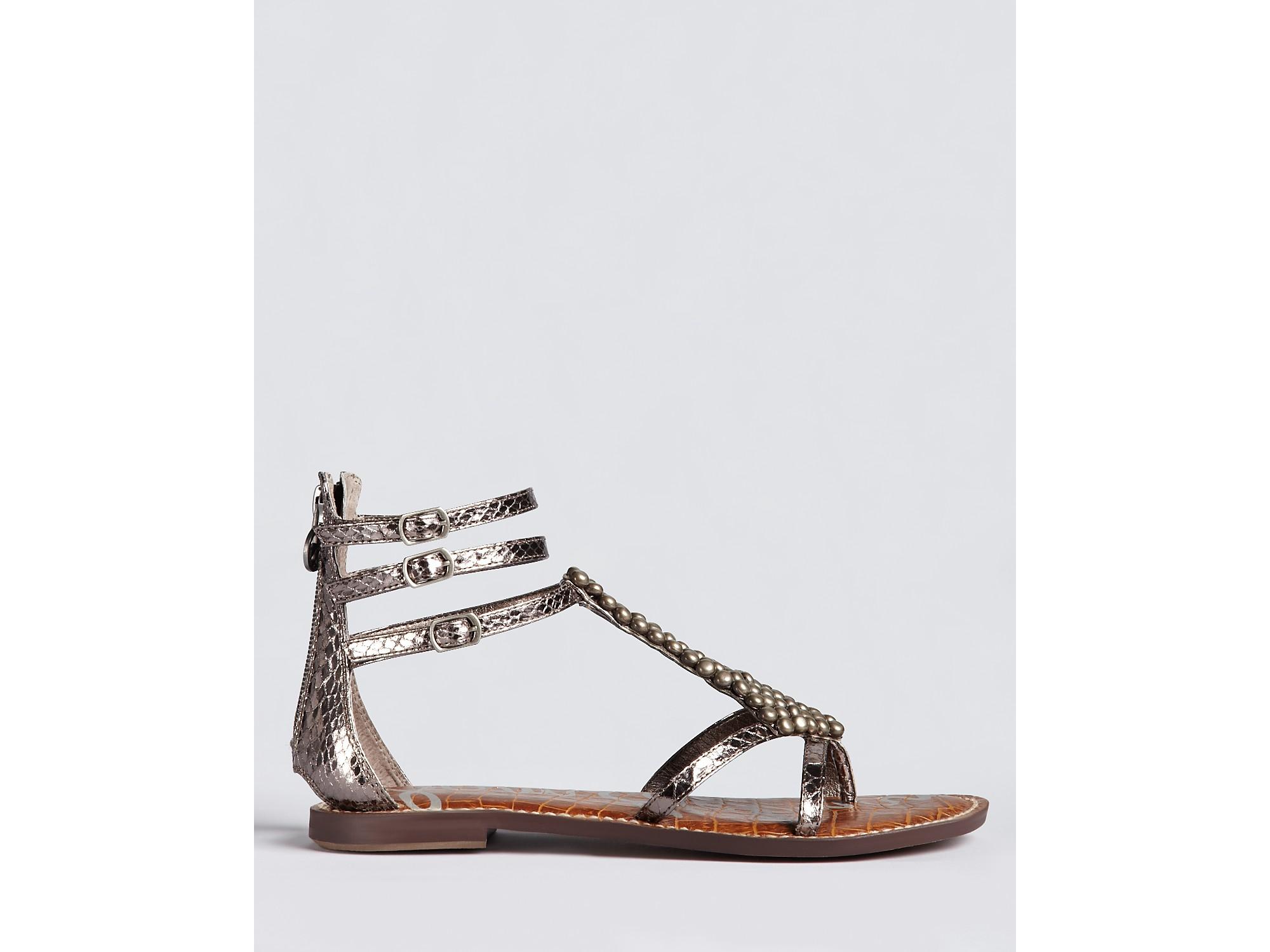 bc90ebb3d27 Lyst - Sam Edelman Sandals Ginger in Metallic