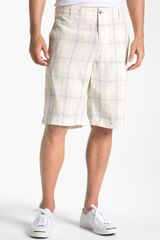 Tommy Bahama Frame Fortune Plaid Linen Shorts - Lyst