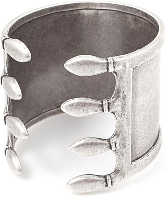 Vanessa Mooney Caged Cuff Silver - Lyst